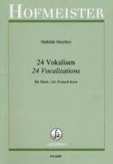 24 Vokalisen Mathilde Marchesi Partition Cor - laflutedepan.com