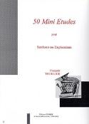 50 Mini Etudes François Thuillier Partition Tuba - laflutedepan.com
