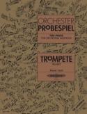 Orchester Probespiel Partition Trompette - laflutedepan.com