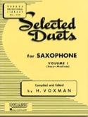Selected Duets Volume 1 Voxman Partition Saxophone - laflutedepan.com