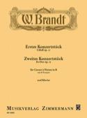 Konzertstück Opus 11 et Opus 12 Willy Brandt laflutedepan.com