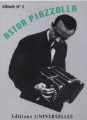 Album N° 2 Astor Piazzolla Partition Musique du monde - laflutedepan