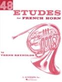 48 Etudes Verne Reynolds Partition Cor - laflutedepan.com