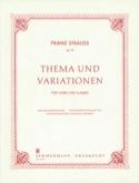 Thema Und Variationen Opus 13 Franz Strauss Partition laflutedepan.com
