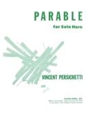Parable 8 opus 120 - Vincent Persichetti - laflutedepan.com