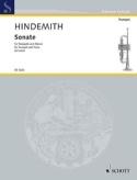 Sonate Paul Hindemith Partition Trompette - laflutedepan.com