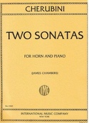 Two Sonatas - Luigi Cherubini - Partition - Cor - laflutedepan.com