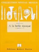 A la Belle Epoque Jérôme Naulais Partition laflutedepan.com