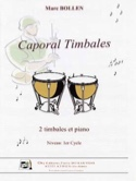 Caporal Timbale Marc Bollen Partition Timbales - laflutedepan.com