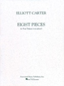 8 Pieces Elliott Carter Partition Timbales - laflutedepan.com