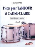 Pièces pour tambour et caisse-claire volume 1 - laflutedepan.com