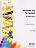 Balade en Périgord Alain Crepin Partition Trombone - laflutedepan.com