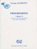 Progressions Volume 2 Georges Barboteu Partition laflutedepan.com