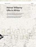 Ulla In Africa Heiner Wiberny Partition Clarinette - laflutedepan.com