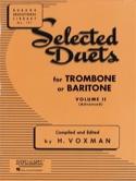 Selected Duets Volume 2 Voxman Partition Trombone - laflutedepan.com
