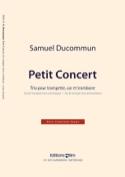 Petit Concert Samuel Ducommun Partition laflutedepan.com