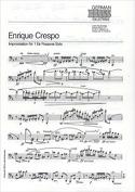 Improvisation Nr. 1 Enrique Crespo Partition laflutedepan.com