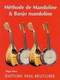 Méthode de Mandoline & Banjo Mandoline Edgar Bara laflutedepan.com