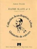 Danse Slave N° 8 Anton Dvorak Partition laflutedepan.com