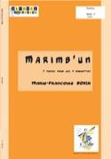 Marimb'un Marie-Françoise Bonin Partition Marimba - laflutedepan.com