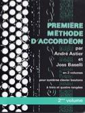 Premiere Méthode D' Accordéon Volume 2 laflutedepan.com