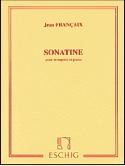 Sonatine Jean Françaix Partition Trompette - laflutedepan.com