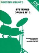 Systèmes drums N° 2 - Juskowiak J.F. / Lacau O. - laflutedepan.com
