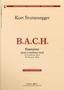 B.A.C.H. Fantaisie Kurt Sturzenegger Partition laflutedepan.com