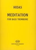 Meditation Frigyes Hidas Partition Trombone - laflutedepan.com