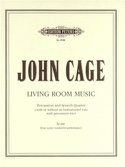 Living Room Music - Score John Cage Partition laflutedepan.com
