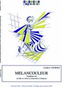 Mélancouleur Frédéric Jourdan Partition Vibraphone - laflutedepan.com