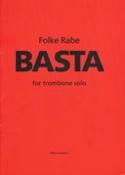 Basta Folke Rabe Partition Trombone - laflutedepan.com