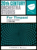 20th Century Orchestra Studies Partition Timbales - laflutedepan.com