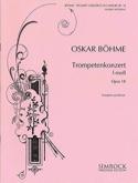 Konzert F-Moll Opus 18 Oskar Böhme Partition laflutedepan.com