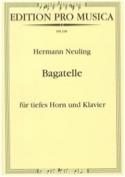 Bagatelle Hermann Neuling Partition Cor - laflutedepan.com