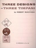 Three Designs Opus 11 N° 2 - Robert Muczynski - laflutedepan.com
