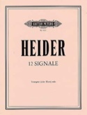 12 Signale Werner Heider Partition Trompette - laflutedepan.com