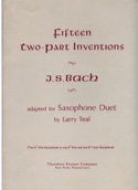 Fifteen Two-Part Inventions BACH Partition laflutedepan.com