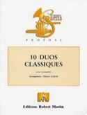 10 Duos classiques Partition Trompette - laflutedepan.com