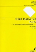 Paths Toru Takemitsu Partition Trompette - laflutedepan.com