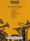 Dix Thèmes Faciles Partition Ensemble de cuivres - laflutedepan.com