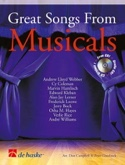 Great Songs From Musicals Partition Trompette - laflutedepan.com