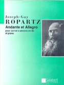 Andante et Allegro (version sib) Joseph-Guy Ropartz laflutedepan.com