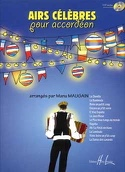 Airs Célèbres Pour Accordéon - Manu Maugain - laflutedepan.com