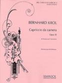 Capriccio da camera opus 35 Bernhard Krol Partition laflutedepan.com