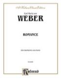 Romance Carl Maria Von Weber Partition Trombone - laflutedepan.com