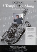 3 Tempi Play Along, Album Easy Volume 1 Partition laflutedepan.com