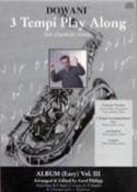 3 Tempi Play Along, Album Easy Volume 3 Partition laflutedepan.com