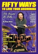 Fifty Ways To Love Your Drumming Rony Holan Partition laflutedepan.com