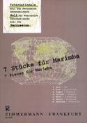 7 Stücke Für Marimba Partition Marimba - laflutedepan.com